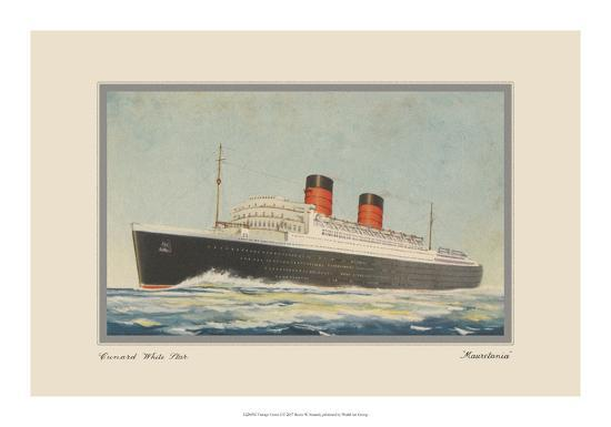 Vintage Cruise I-Unknown-Giclee Print