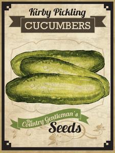 Vintage Cucumber Seed Packet