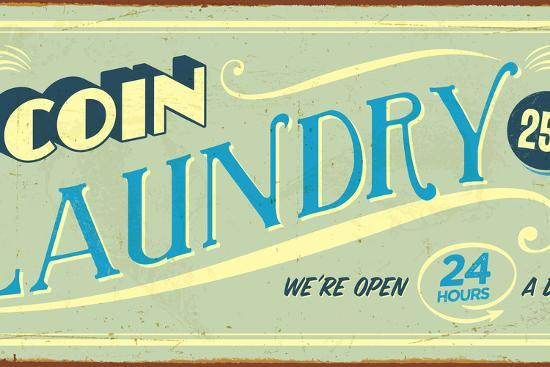 Vintage Design - Coin Laundry Photographic Print by Real Callahan | Art com