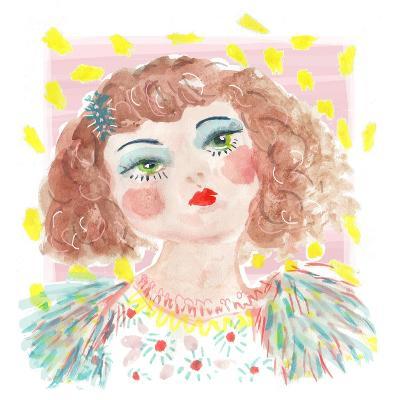 Vintage Doll 2, 2014-Jo Chambers-Giclee Print
