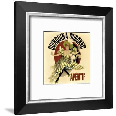 Vintage Dubonnet Liquor-Kate Ward Thacker-Framed Giclee Print