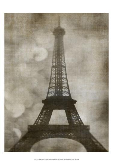 Vintage Eiffel I-Honey Malek-Art Print