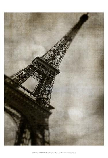 Vintage Eiffel II-Honey Malek-Art Print