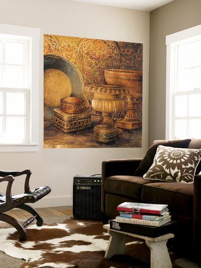 Vintage Elements I-Linda Thompson-Wall Mural