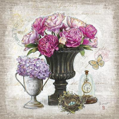 Vintage Estate Florals 1-Chad Barrett-Art Print