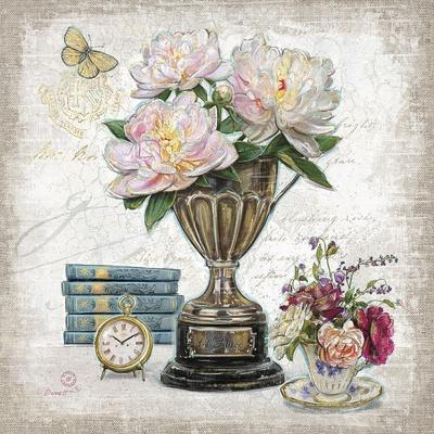 Vintage Estate Florals 2-Chad Barrett-Art Print