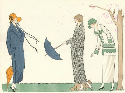 Vintage Fashion Illustration--Art Print