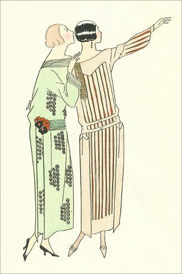Vintage Fashion Illustration--Art Print