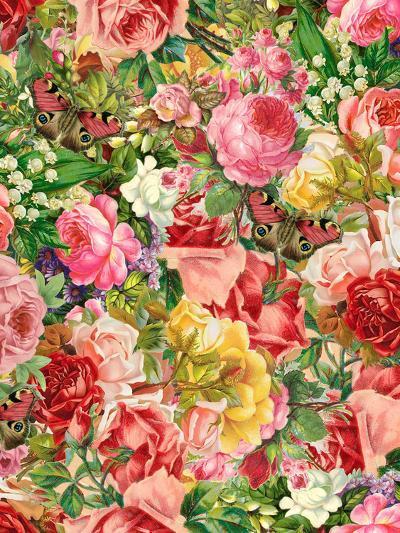 Vintage Flower 2-Lebens Art-Art Print