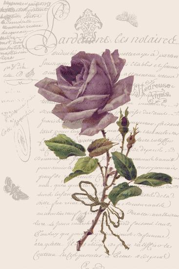 Vintage Flower I-Stephanie Monahan-Art Print