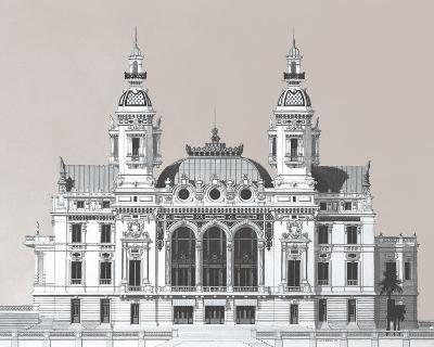 Vintage Formation I-Andras Kaldor-Giclee Print