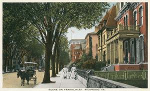 Vintage Franklin Street, Richmond