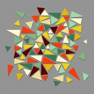 Vintage Geometric Elements-cienpies-Art Print