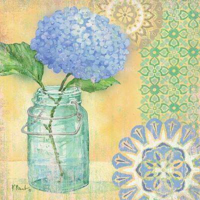 Vintage Glass Floral II-Paul Brent-Art Print