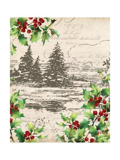 Vintage Holiday II-Katie Pertiet-Art Print