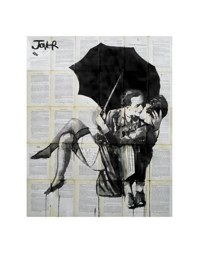Vintage Kiss-Loui Jover-Art Print