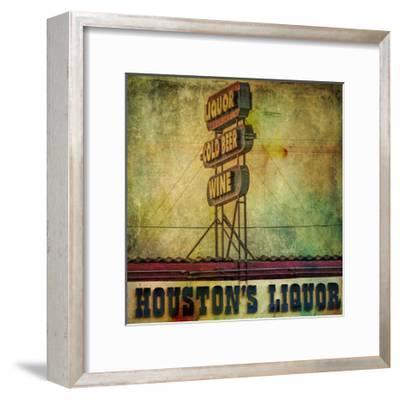 Vintage LA IV-Honey Malek-Framed Art Print