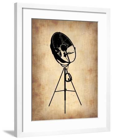 Vintage Lamp 1-NaxArt-Framed Art Print