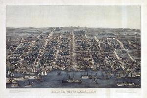 Alexandria Va Forts Built To Defend Washington - Civil War 1863 by Vintage Lavoie