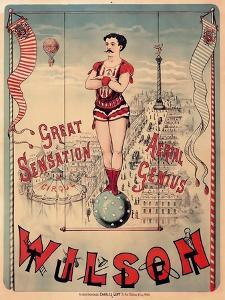 Circus 1889 by Vintage Lavoie