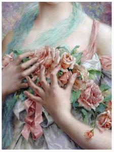Emile Vernon - the Rose Girl by Vintage Lavoie