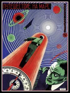 Journey To Mars Russian Constructivist by Vintage Lavoie