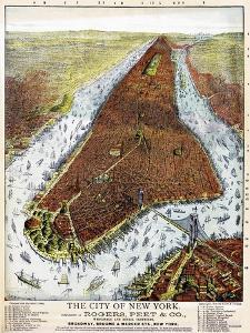 Manhattan 1879 by Vintage Lavoie