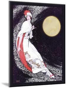 Moon Fairy Canvas 2a by Vintage Lavoie