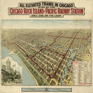 The Chicago El 1897 by Vintage Lavoie