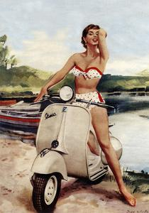 Travel 0129a by Vintage Lavoie