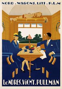 Travel Rail 0016 by Vintage Lavoie