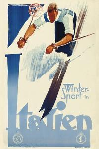 Winter Sport in Italien by Vintage Lavoie