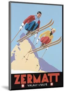 Zermatt Valais Suisse by Vintage Lavoie