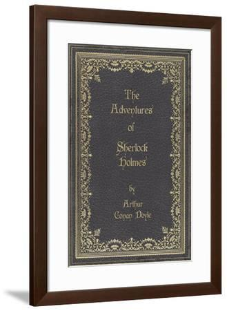 Vintage Library - Sherlock-The Vintage Collection-Framed Giclee Print