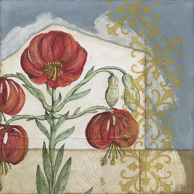 Vintage Lilies I-Megan Meagher-Premium Giclee Print