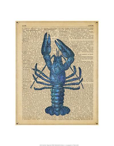 Vintage Lobster-Sparx Studio-Art Print