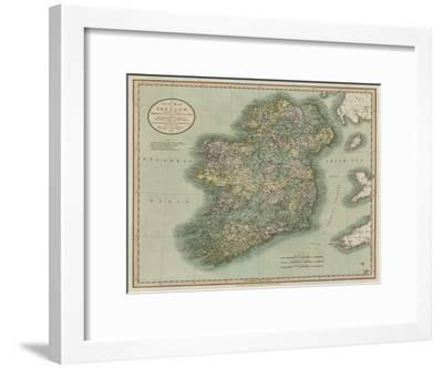 1799 Ireland; Antique Map; A New Map of Ireland by John Cary