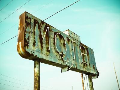 Vintage Motel I-Recapturist-Photographic Print
