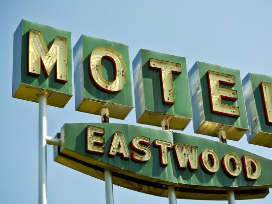 Vintage Motel III-Recapturist-Photographic Print