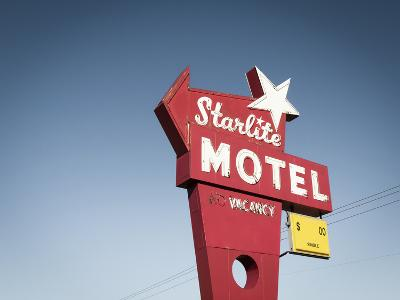 Vintage Motel VI-Recapturist-Photographic Print
