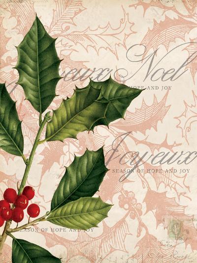 Vintage Noel I-Katie Pertiet-Art Print
