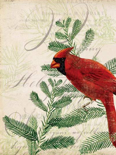 Vintage Noel II-Katie Pertiet-Art Print