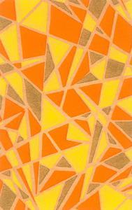 Vintage Paper, Abstract Geometric Pattern