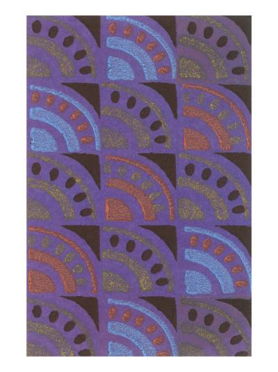 Vintage Paper, Abstract Pattern--Art Print