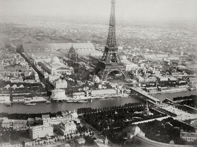 Vintage Paris I-N^ Harbick-Art Print