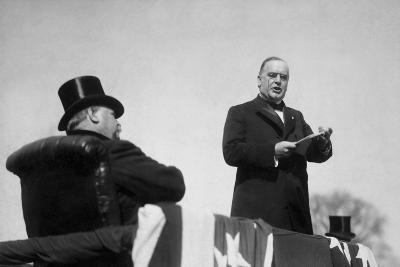 Vintage Photo of President William Mckinley Making His Inaugural Address-Stocktrek Images-Photographic Print