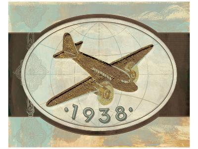 Vintage Plane II-Alan Hopfensperger-Art Print