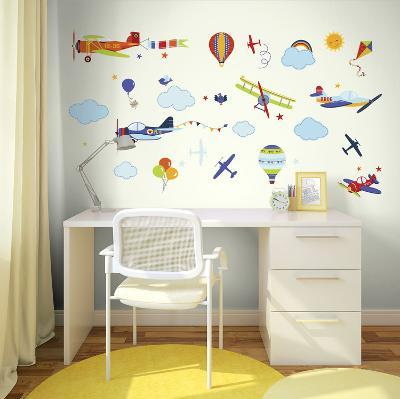 Vintage Planes--Wall Decal