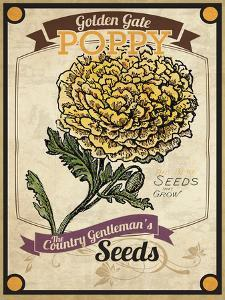 Vintage Poppy Seed Packet
