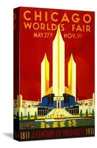 1933 Chicago World's Fair by Vintage Poster